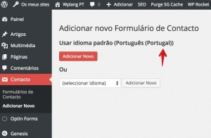Plugins WordPress Portugues - Formularios de Contacto